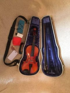 Suzuki 1/2 Size Violin Outfit, Nagoya, Anno/Made in 1988