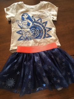 2t Moana outfit