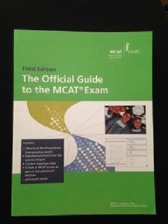 $15 OBO The Official Guide to the MCAT Exam, 3rd Edition (2013, Paperback)