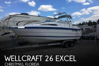 1994 Wellcraft 26 Excel