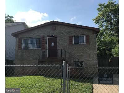 4 Bed 2 Bath Foreclosure Property in Capitol Heights, MD 20743 - Burgundy St