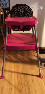 Highchair/ Toddler Table & Chair