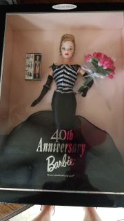 Collection edition 40th Anniversary Barbie