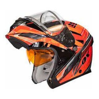 Sell Zox Brigade SVS Voyager Modular Helmet Red motorcycle in Holland, Michigan, United States, for US $131.14