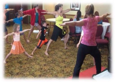 Storytime Yoga for Kids ages 5-10, Saturday!