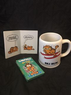 Group of Garfield the Cat Items