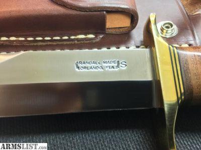 """For Sale: Randall Knives Model# 12-6"""" Sportsman"""