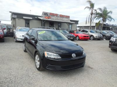 2012 Volkswagen Jetta SE (Black)
