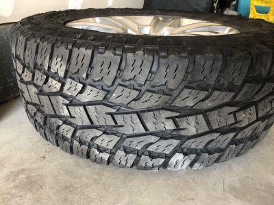Ford F-150 20 Rims and Tires Platinum