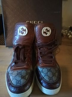 EEUC AUTHENTIC GUCCI HIGH TOPS!!