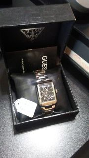 men's Guess steel watch