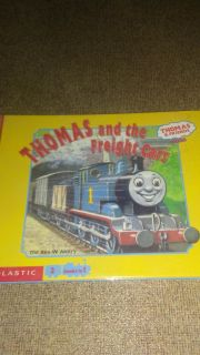 Thomas and the freight cars