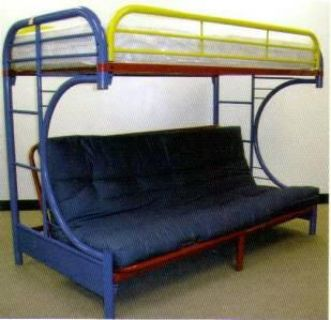 $179, AWESOME  --Twin over futon bunk bed--