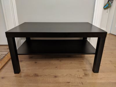 Black Coffee Table / TV Stand