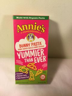 Annie s Bunny pasta cheddar cheese