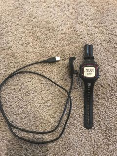New, Garmin Forerunner with charger, never used!