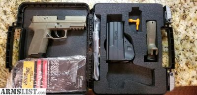 For Sale/Trade: Sig Sauer SP2022 FDE .40