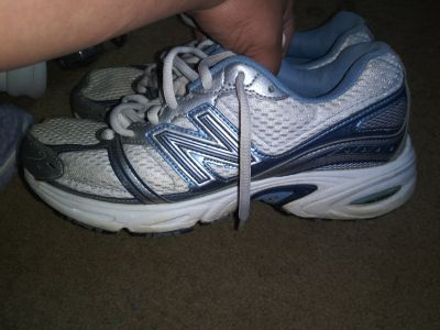 New Balance size 8 and 1/2 worn a few times good condition