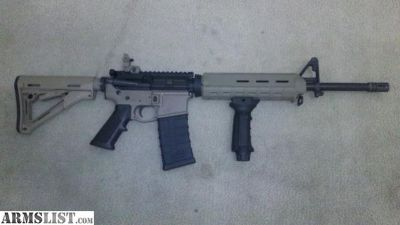 For Sale: Aero AR-15 Black and Tan with Extras