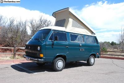 1983 VW Westfalia Pop Top Camper Vanagon