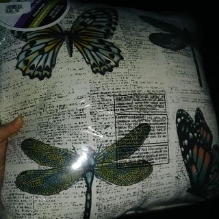 #1 of 2, Outdoor pillow, new in package, see pic for size, thurs swap
