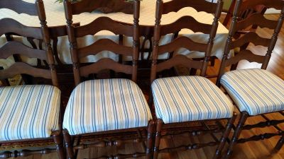 High back chairs - 4