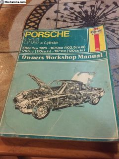 Porsche 914 1969-76 Manual Hayes