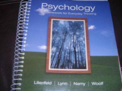 $65 Psychology book; a framework for everyday thinking