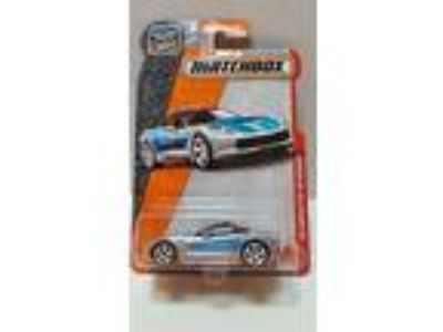 2015 MATCHBOX '15 Corvette Stingray Polizei .Metal