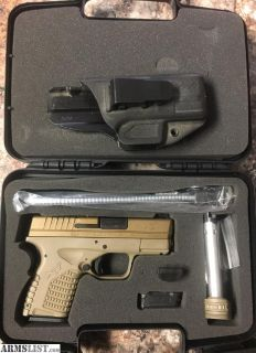 For Sale: Springfield XDS .45 FDE