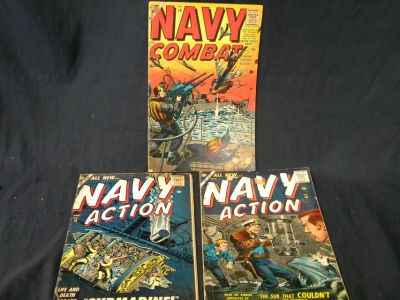 Navy Action Comics! Late 50's