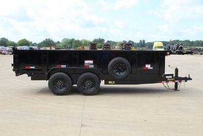 Big Tex 16LX Dump Trailer, 7x14 & 7x16 with 8K Axles