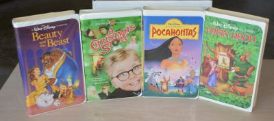 Kids Disney vhs movies