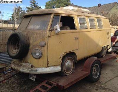 SO42 Poptop Camper Bus Walk Through Rare 1966