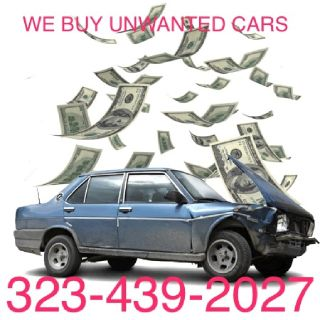 $$Cars wanted$$$ any unwanted cars