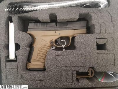 For Sale: Springfield XDS FDE - 335.00