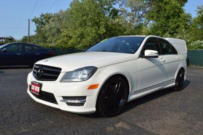 2012 Mercedes-Benz C-Class C300 4MATIC Luxury (White)