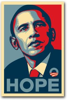 "Barack Obama 11"" x 17"" Mini Poster - Hope"