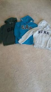 GAP & Nike hooded Jackets size youth small