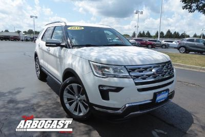 2018 Ford Explorer Limited (Oxford White)