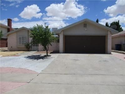 3 Bed 2 Bath Foreclosure Property in El Paso, TX 79936 - Judith Resnik Dr