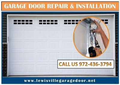 Commercial New Garage Door Installation Service Lewisville, 75056 TX – Start $25.95
