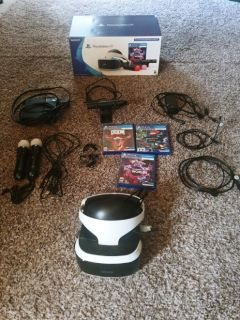 PlayStation Doom VR Bundle w/ (2) Move Controllers