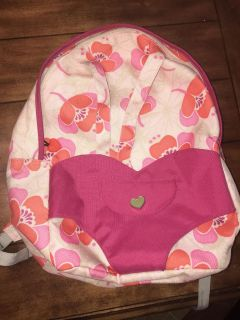 Our Generation Backpack that carries dolls