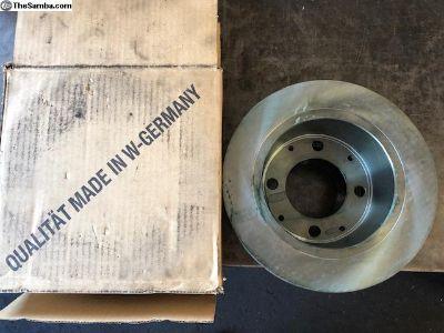 NOS German rear brake rotors