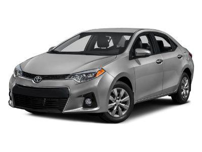 2016 Toyota Corolla L (silver)