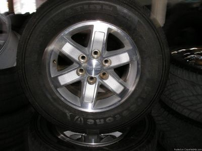 4 17 inch gmc wheels and tires atlanta (with shipping available