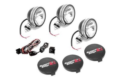 Purchase Rugged Ridge 15207.61 - Off Road Black Fog Light Kit motorcycle in Suwanee, Georgia, US, for US $122.06