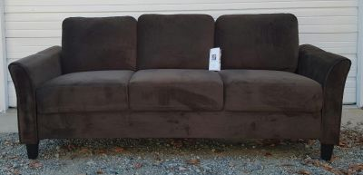 New Lifestyle Solutions Westin Sofa in Coffee