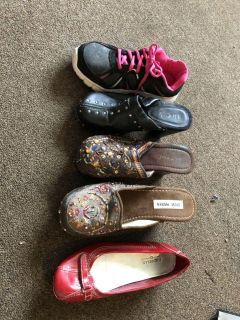 Womens shoes over 50 pairs